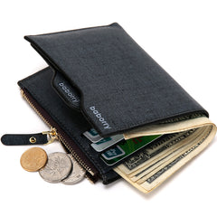 New Fashion men wallets ID Card holder