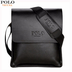 VICUNA POLO Famous Brand Leather Men Bag
