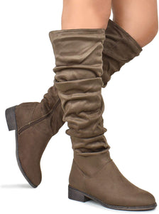 Olympia-25 - Nature Breeze Thigh High Over The Knee Riding Boots - ShoeFad