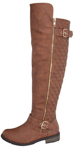 Mango-41 - Forever Link Over The Knee Boots For Women - ShoeFad