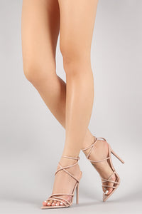 Ada - Cape Robbin - Women Pointy Toe High Heels Sandal - ShoeFad