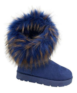 Frozen-01 By Bamboo Stylish Women Winter Boots
