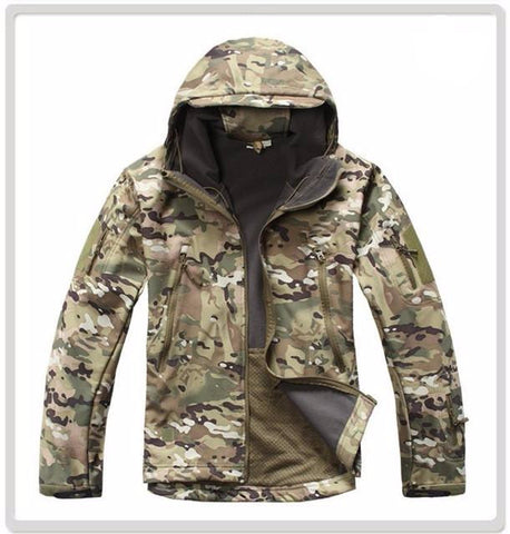 Softshell V4 Military Tactical Waterproof/Windproof Coat