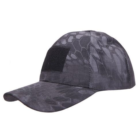 Tactical Cap with Adjustable Velcro