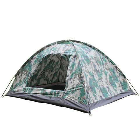 2 Person Super Light, Camouflage Windbreak Waterproof Tent