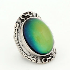 Bohemian Retro Color Change Mood Ring