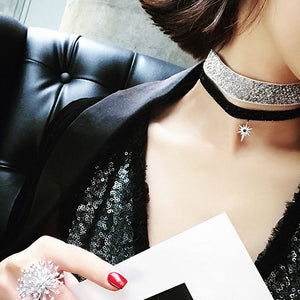 Snow Elegant Choker Necklace