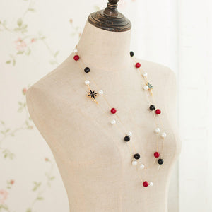 Snow Pearl Long Necklace