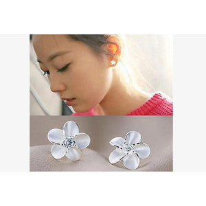 Amazing Crystal Flower Ear Studs