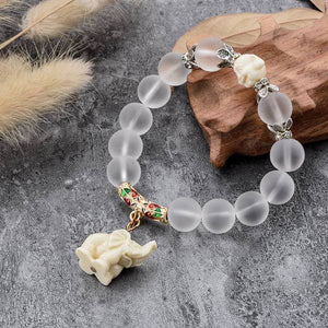 Lucky Elephant Beaded Bracelet 3