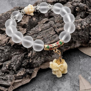 Lucky Elephant Beaded Bracelet 4