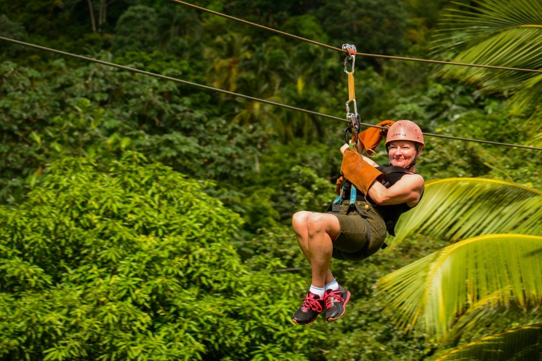 Zip line at monkey jungle from puerto plata zip line at monkey jungle from puerto plata expediaexcursions solutioingenieria Images