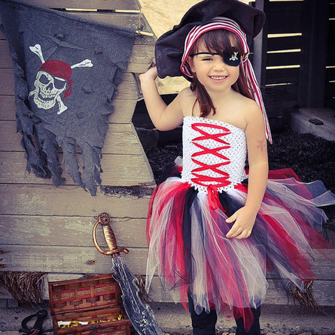 The Ginger: Pirate Tutu Dress