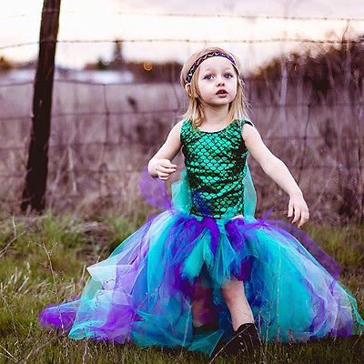 The Ariel: Tulle Mermaid Dress