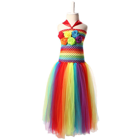 The Alexa: Rainbow Tutu Dress (2 Styles)