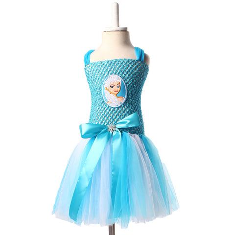 The Elsa: Frozen Tutu Dress