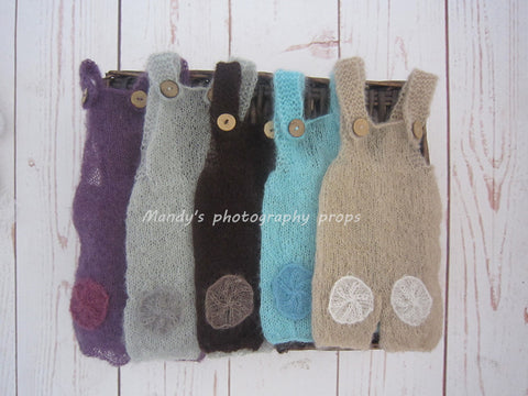 Baby Mohair Overalls (10 Colors)