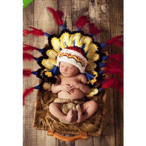 Native American Baby Crochet (2 pieces)