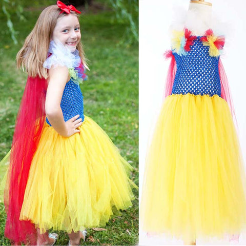 The Snow White: Tulle Ball Gown Costume