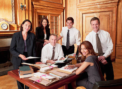 Attorney's in Office Picture