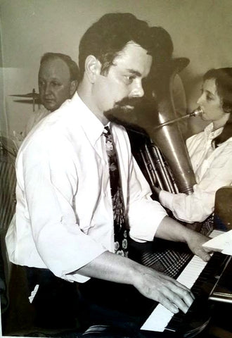 Robin Wetterau Jazz Piano Player Jelly Roll Morton Red Onion Jazz Band Yellow Dog Jazz Band