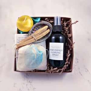 Home Energy Cleansing Kit House Warming Gift Box