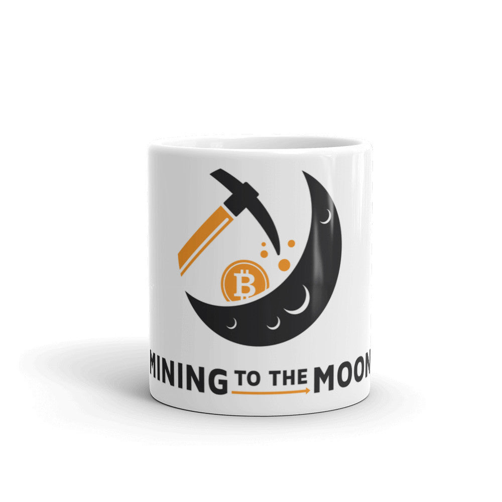 Mining to the Moon Mug