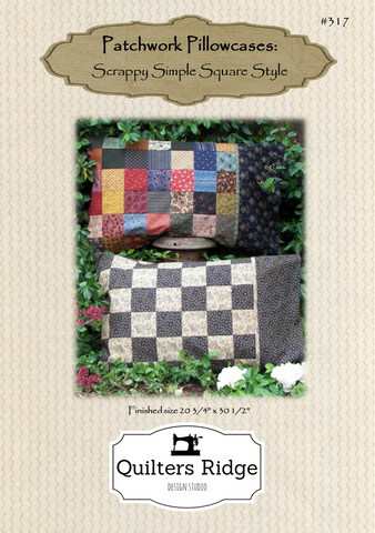 Patchwork Pillowcases: Scrappy Simple Square Style