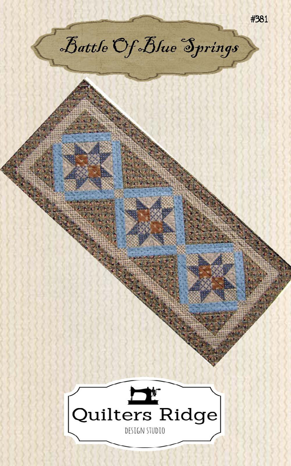 Battle Of Blue Springs Tablerunner