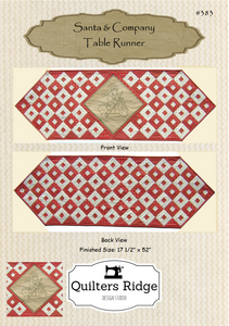 Santa & Company Table Runner