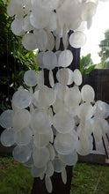 Bowl Three-Tier Capiz Shell Chandelier 39""