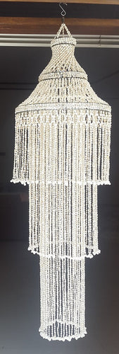 Nassa Three-Tier Drop Chandelier