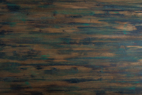 Patterned stained wood