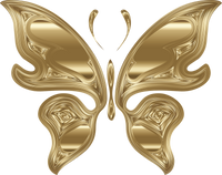 Hipnotic Gold Butterfly