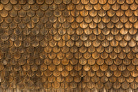 Weathered wall of wooden
