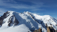 Awesome snowy  Mont Blanc