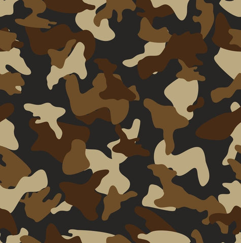 Brown army camo pattern