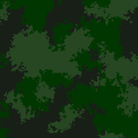Green Woodland Camouflage Pattern