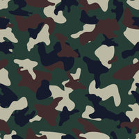 Green Brown woodland camo