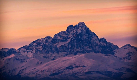 Monviso Snow-dusted mountain