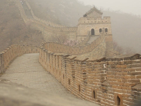 Pathway of the Wall of China