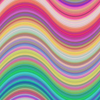 Rainbow pattern expression