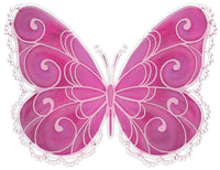 White Pink Butterfly