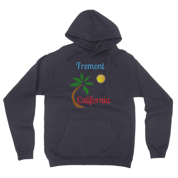 Fremont California Palm Sun California Fleece Pullover Hoodie