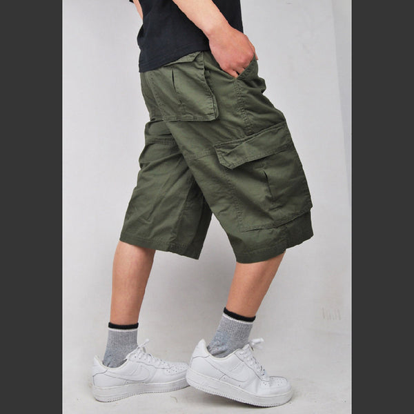 d5e2d31051 ... 2017 brand men's casual camouflage loose cargo shorts men large size  multi-pocket military short ...