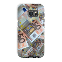 50 Euro Banknotes Phone Case Galaxy S7 Edge / Tough Gloss & Tablet Cases