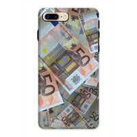 50 Euro Banknotes Phone Case Iphone 8 Plus / Tough Gloss & Tablet Cases