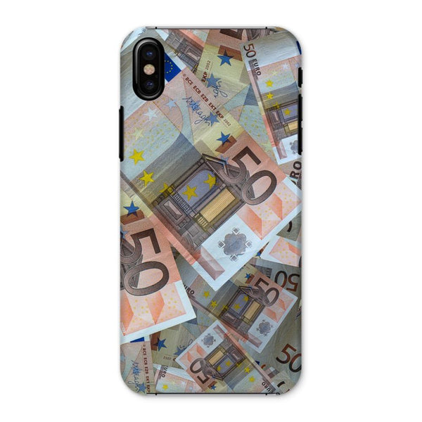 50 Euro Banknotes Phone Case Iphone X / Snap Gloss & Tablet Cases