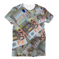 50 Euro Banknotes Sublimation T-Shirt Xs Apparel