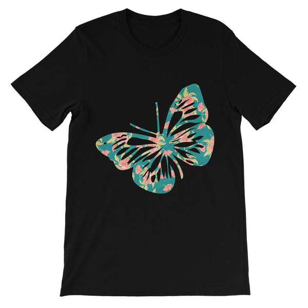 Green Cayenne Butterfly Kids' T-Shirt